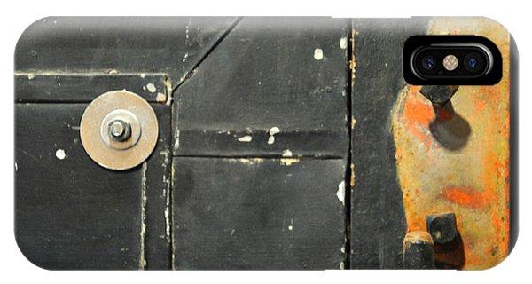 Carlton 10 - Firedoor Detail IPhone Case