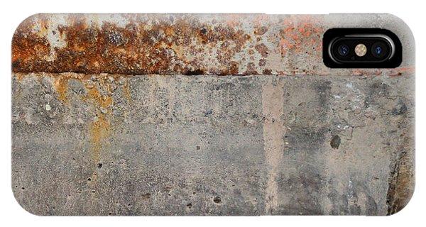 Carlton 16 Concrete Mortar And Rust IPhone Case