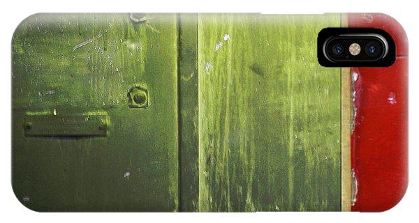 Carlton 6 - Firedoor Abstract IPhone Case