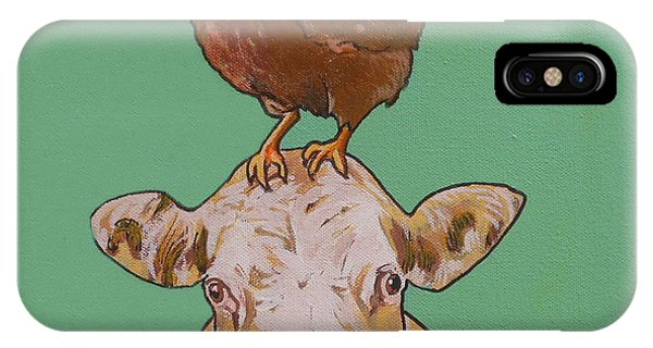 Carlyle The Cow IPhone Case