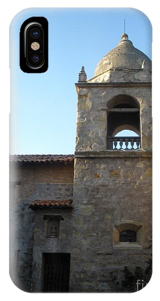 Carmel Mission IPhone Case
