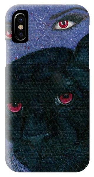 Carmilla - Black Panther Vampire IPhone Case
