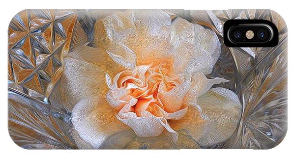 Carnation In Cut Glass 7 IPhone Case