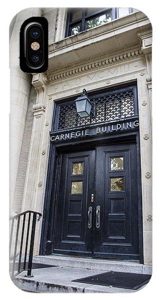 Carnegie Building Penn State  IPhone Case