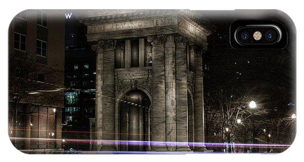 Carnegie Monument IPhone Case