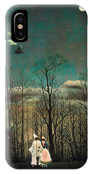 French Painter iPhone Case - Carnival Evening by Henri Rousseau