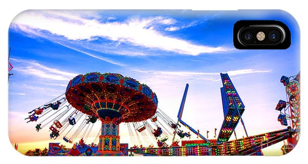 Funfair iPhone Case - Carnival Magic by Olivier Le Queinec