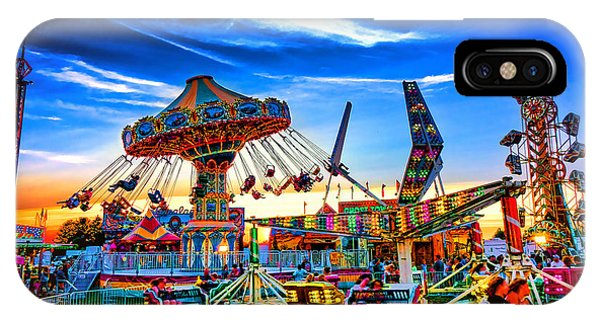 Funfair iPhone Case - Carnival by Olivier Le Queinec