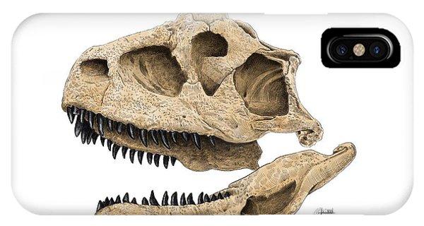 Carnotaurus Skull IPhone Case