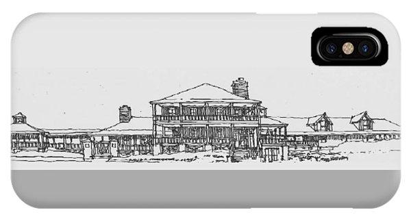 Carolina Beach House IPhone Case