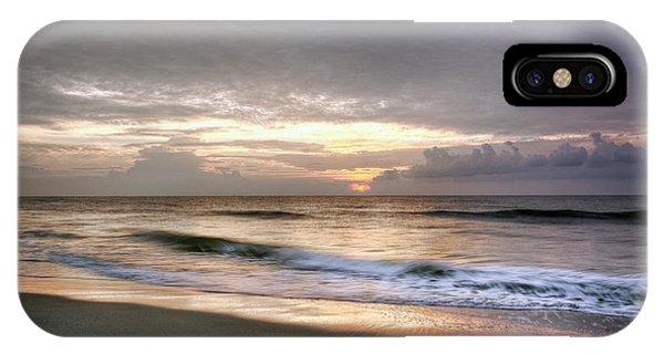 Carolina Beach Morning IPhone Case