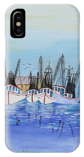 Carolina Shrimpers IPhone Case