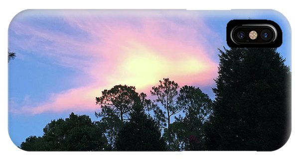 Carolina Summer Sky IPhone Case