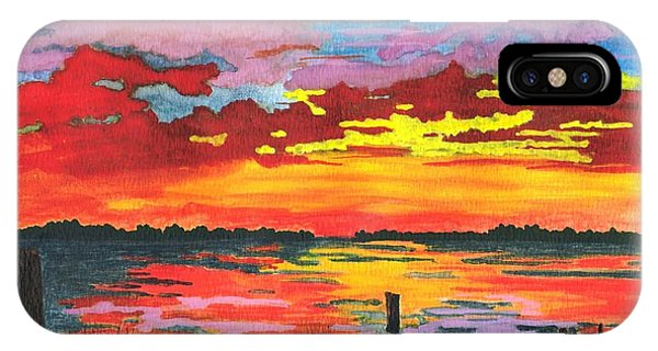 Carolina Sunset IPhone Case