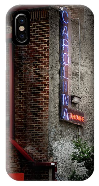 Carolina Theatre Neon IPhone Case