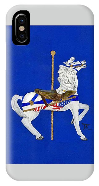 Carousel Horse #1 IPhone Case