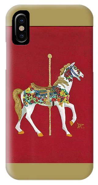 Carousel Horse #2 IPhone Case