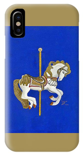 Carousel Horse #3 IPhone Case