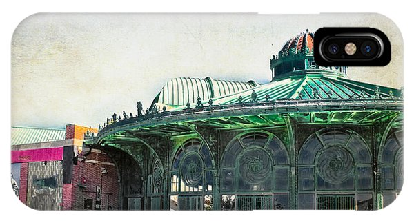 Carousel House At Asbury Park IPhone Case