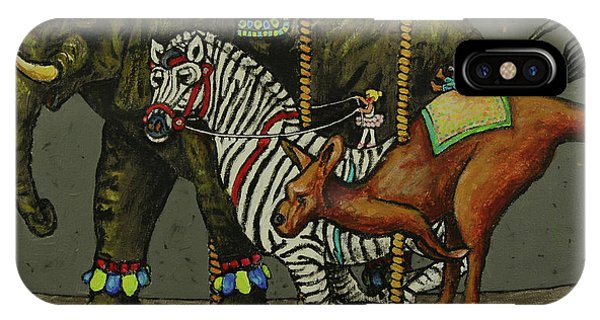 iPhone Case - Carousel Kids 6 by Rich Travis