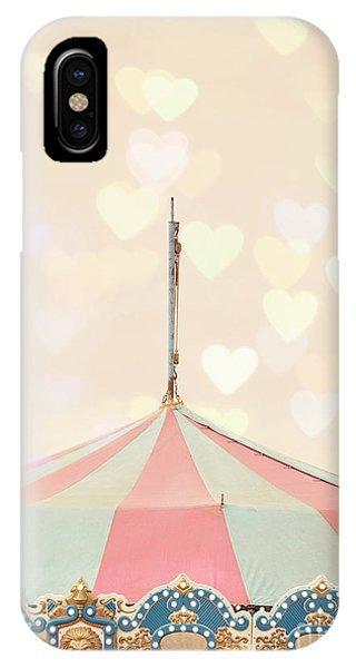 Funfair iPhone Case - Carousel Tent by Juli Scalzi