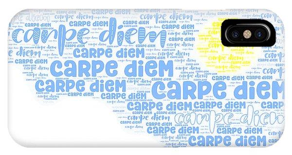 IPhone Case featuring the digital art Carpe Aestatem by Bee-Bee Deigner