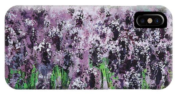 Carpet Of Lavender IPhone Case