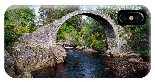 Carr Bridge Scotland IPhone Case