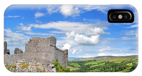 Carreg Cennen Castle 1 IPhone Case