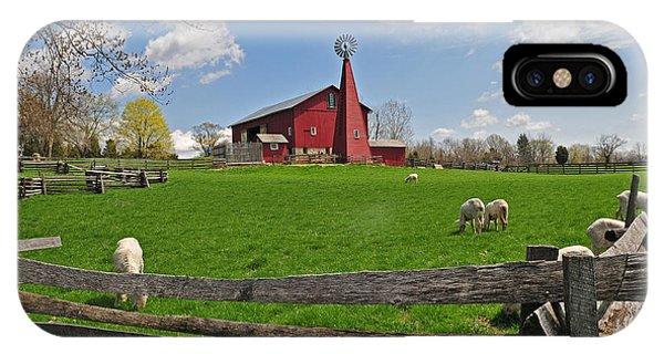 D14d-43 Carriage Hill Farm Metro Park Photo IPhone Case