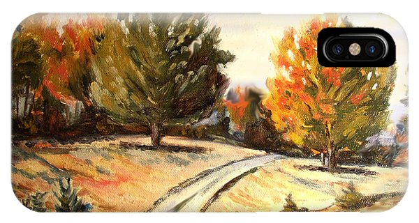 Carriage Path IPhone Case