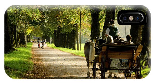 Carriage Ride In Hellbrunn IPhone Case