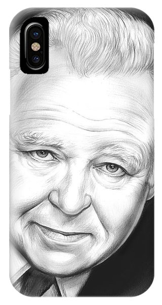 All In The Family iPhone Case - Carroll O'connor by Greg Joens