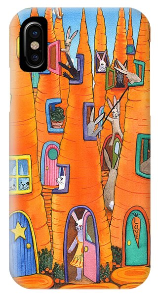 Carrot Condos IPhone Case