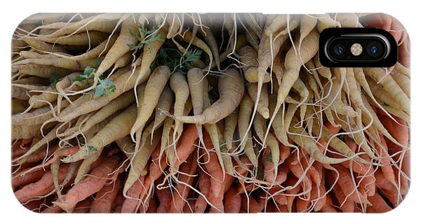 Carrots And Turnips IPhone Case