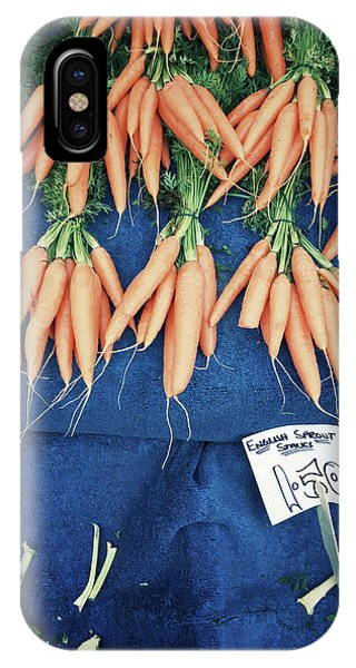Carrots At The Market IPhone Case