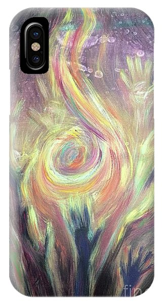 Carry The Fire IPhone Case