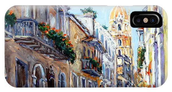 Cartagena Colombia IPhone Case