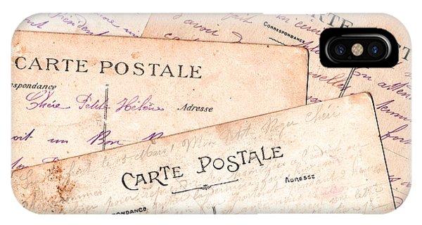Cartes Postales IPhone Case