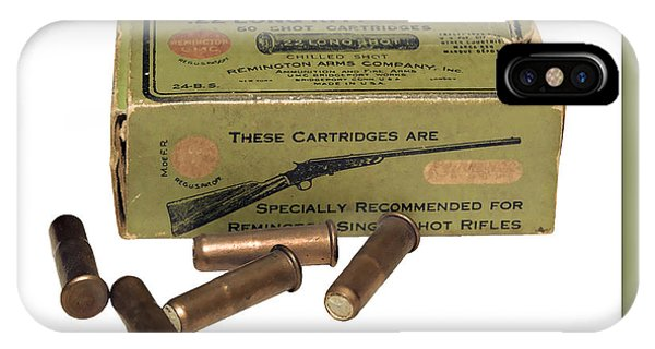 Cartridges For Rifle IPhone Case