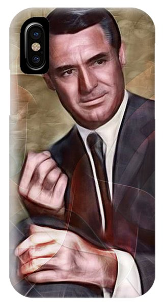 Cary Grant - Square Version IPhone Case