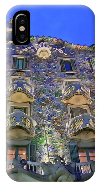 Casa Batllo In Barcelona IPhone Case