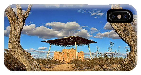 Casa Grande Ruins National Monument IPhone Case