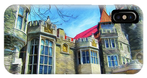 Casa Loma Series 2 Painted Y1 IPhone Case