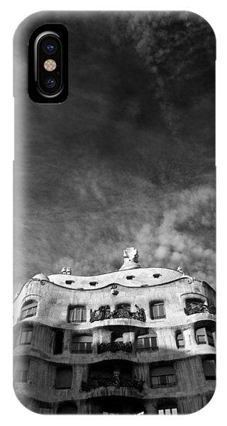Gaudi iPhone Case - Casa Mila by Dave Bowman