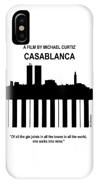 Casablanca - Doc Braham - All Rights Reserved IPhone Case