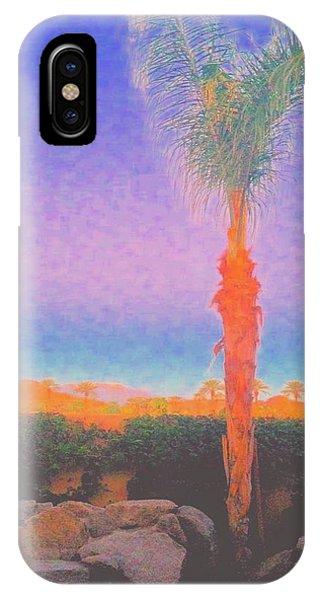 iPhone Case - Casapaz  Palm At Dawn by Jack Eadon
