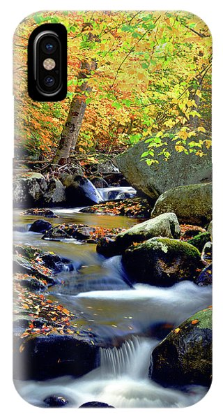 Cascade Brook IPhone Case