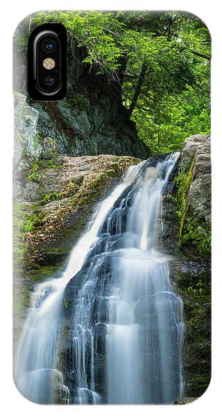 Cascade Falls In South Portland In Maine IPhone Case