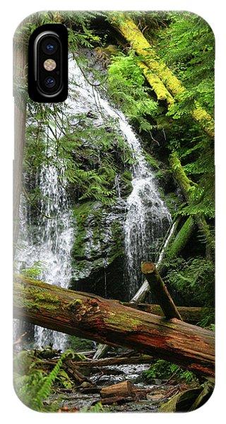 Cascade Falls - Orcas Island IPhone Case